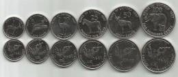 Eritrea 1997. Complete Coin Set Of 6 Coins 1 - 5 - 10 - 25 - 50 - 100 Cents - Eritrea