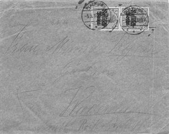 MiNr.2 (MeF) Cover Pultusk (Ostenburg) 1916 Besetzg.WK I. Russ.Polen - Occupation 1914-18