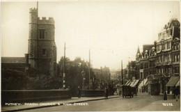 PUTNEY  PARISH CHURCH  & HIGH STREET  RV - Londres – Suburbios