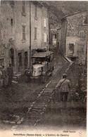 SOLEILHAS - L' Arrivée Du Courrier (Autobus) Cachet Daguin De CASTELLANE (Bsses Alpes)   (8235 ASO) - Otros Municipios