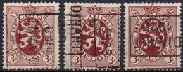 N° 5005A/B/D DINANT 1929 - Rollenmarken 1920-29
