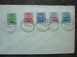 1920  Lettre 5 Timbres  EUPEN MALMEDY   Cachet EYNATTEN   PERFECT - Storia Postale