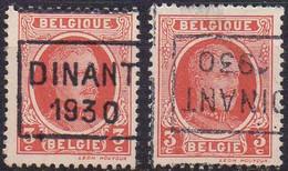 N° 5418C/D DINANT 1930 - Roller Precancels 1930-..