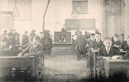 Denderleeuw, école, Pensionnat Laïc Pour Jeunes Gens. - Denderleeuw