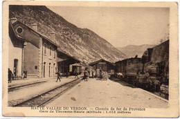 Gare De THORAME HAUTE -Chemin De Fer De Provence    (8239 ASO) - Sonstige Gemeinden