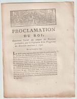 1790, Proclamation Du Roi Concernant L'arrêté Des Comptes Des Receveurs Particuliers - Décrets & Lois