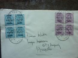 1920  Lettre 8 Timbres  EUPEN MALMEDY Cachet EYNATTEN   PERFECT - Storia Postale