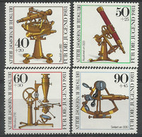 Germany Berlin 1981 Year , Mint Stamps MNH(**) Mi.# 641-644 Astrolabe - Nuevos