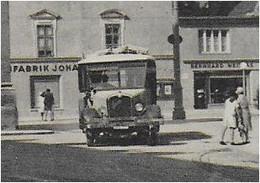 AK 0780  Innsbruck - Triumphpforte ( Bus ) / Verlag Redlich Um 1950 - Innsbruck