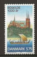 Denmark 1998 1000 Years City Of Roskilde, Mi 1174 MNH(**) - Neufs