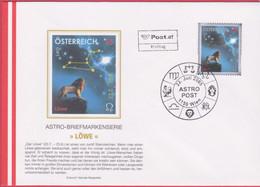FDC 2005 - Mi 2539 (2) , Astro Set 2 - Löwe , SST 1150 Wien - FDC