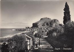 CEFALÚ-PALERMO-PANORAMA-CARTOLINA VERA FOTOGRAFIA VIAGGIATA-1950-59 - Palermo