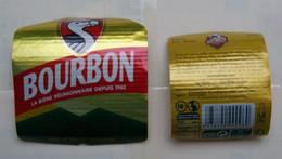 1  ETIQUETTE  De BIERE   DE LA REUNION   BOURBON ( Voir Description)) - Birra