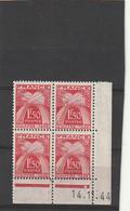 ///    FRANCE  ///  Coin Daté  Taxe N° 71 Gomme ** - 1940-1949