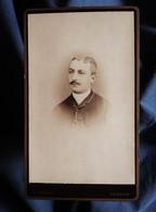 Photo CDV J. Arnaud à Verdun - Portrait Nuage Homme, Circa 1885-90 L562C - Oud (voor 1900)
