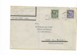 Brief Aus Cöln Nach Prag 1924 - Briefe U. Dokumente