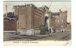 Kontich  Contich    -  Ingang Der Nederlegging 1906 - Kontich