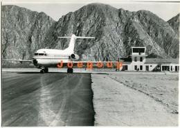 Photo Airplane Avión Airport Aeropuerto De Anguinán Chilecito La Rioja Argentina 1985 Aviation - Luftfahrt