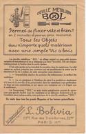 PARIS - Cheville Métallique BOL - 22 Bis Rue Des Trois-Bornes - ( XIe ) - Advertising