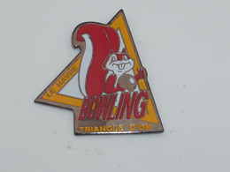 Pin's LE HAVRE, BOWLING DU TRIANGLE D OR - Bowling