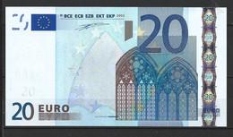 BILLETE DE 20,00€ SIN CIRCULAR PLANCHA   (C.B) - 5 Euro