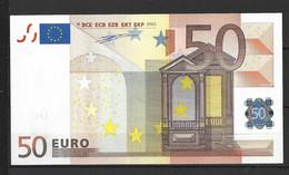 BILLETE DE 50,00€ SIN CIRCULAR PLANCHA   (C.B) - 5 Euro