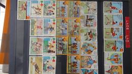 V101 Collection Du Laos Et Autres En Timbres Oblitérés . A Saisir!!! - Verzamelingen (in Albums)