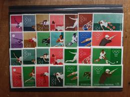 SAN MARINO - Olimpiadi Roma 1960 - Serie Dentellata - Non Dentellata - Nuovi ** + Spese Postali - Neufs
