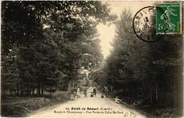 CPA Foret De Senart - Foret De Sénart - Route De CHAMPROSAY (489054) - Sénart