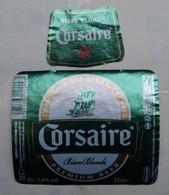 1  ETIQUETTE  De BIERE    CORSAIRE   ( Voir Description)) - Birra