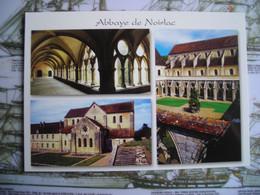 CPM Bruère-Allchamps L'abbaye De Noirlac, Cher, 4 Vues - Saint-Amand-Montrond