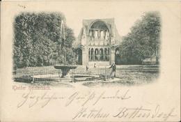 """20 135 Ak Kloster Heisterbach Bahnpost """"CÖLN(RHEIN)-NIEDERLAHNSTEIN"""" 1897 - Covers & Documents"""