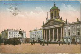 "20 136 Ak Brüssel Bahnpost ""CÖLN(RHEIN)-VERVIERS"" 1918 - Covers & Documents"
