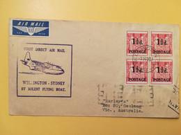 1941 BUSTA TEMATICA NUOVA ZELANDA NEW ZEALAND BOLLO OVERPRINTED  OBLITERE' WELLINGTON - Covers & Documents