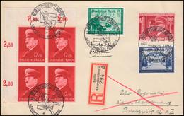 772 Geburtstag Mit Zusatzfr. Ort-R-Brief Passender SSt BERLIN-CHARLOTTENBURG   - Ohne Zuordnung