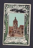 Belle Carte Art Nouveau Muguet Oiseaux Riquewihr Reichenweier Oberthot ( 48324) - Riquewihr