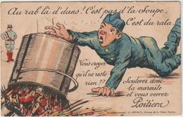 Poitiers (86 - Vienne) Carte à Système - Soulevez Donc La Marmite ...  Dépliant Reste Une Image - Poitiers