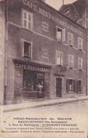 Clermont Ferrand Hôtel Restaurant Du Marché RAVEL DUVERT 8,rur Maringues 2 Plis En Haut à Droite - Clermont Ferrand
