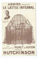 Morris Abbins Présente Le Lattis Infernal,Monet &Goyon Pneus Hutchinson - Cirque