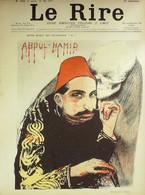 Le RIRE-1897-134-Veber Puppett Cadel Rabier Burret Radiguet Dépaquit - 1900 - 1949