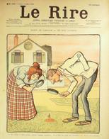 Le RIRE-1898-192-Métivet Radiguet Léandre Faivre Roubille Burret Mirande Somm Rabier - 1900 - 1949