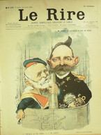 Le RIRE-1901-336-Léandre Grandjouan Montoy Carlègle Bigot Franc-Nohain Hémard - 1900 - 1949