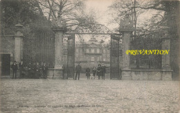 ROEULX - L'Entrée Du Château De Mgr. Le Prince De Croy - Carte Circulé En 1908 - Le Roeulx