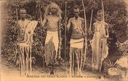 Ruanda, Missions Des Peres Blancs, Chasseurs  (bon Etat) - Rwanda