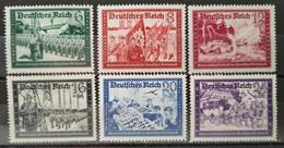 ALLEMAGNE - EMPIRE 1941 - N° 697/702 * (voir Scan) - Unused Stamps