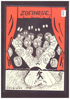 FORMAT 10x15cm - ZOFINGUE 1948 - SOCIETE D'ETUDIANTS - STUDENT SOCIETY - TB - Altri