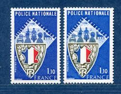 ⭐ France - Variété - YT N° 1907 - Couleurs - Pétouille - Neuf Sans Charnière - 1976 ⭐ - Varieties: 1970-79 Mint/hinged