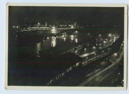 X1L35/ Hamburg Dampfer Cap Arcona Bei Nacht  Hamburg-Süd  AK Ca.1935 - Dampfer
