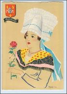 Y273/ Saintonge Frankreich Trachten Künstler Litho AK Dyl Ca.1940 - Ohne Zuordnung
