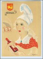 Y272/ Guyenne Frankreich Trachten Künstler Litho AK Dyl Ca.1940 - Ohne Zuordnung